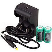 Exposure USB Charger with 2xRCR123 Batteries AW18