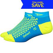 Defeet Speede Checkerboard Socks SS17
