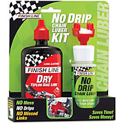 Finish Line No Drip & Dry Teflon Bike Lube Kit