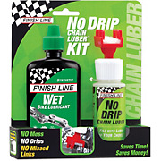 Finish Line No Drip & Wet Bike Lube Kit