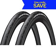 Continental Grand Prix 4000S II 700c 25c Tyre - Pair