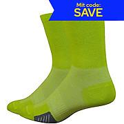 Defeet Cyclismo Wool Comp Limelight Socks SS19