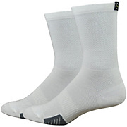 Defeet Cyclismo White Socks with Tab