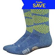 Defeet Woolie Boolie Comp 6 Fishbone Socks SS19
