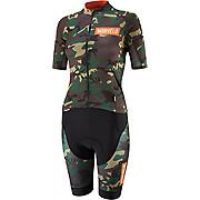 Morvelo Womens Mono Camo Short Sleeve Speedsuit SS19