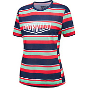 Morvelo Womens Lines Short Sleeve MTB Jersey SS19