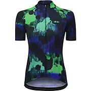 dhb Blok Womens Short Sleeve Jersey - FOREST SS19