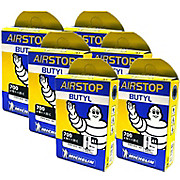 Michelin Air Stop Road 18-25c Inner Tube 6 Pack