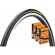Continental Gatorskin 25c Tyre + 3 Tubes