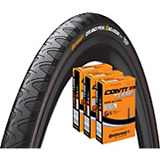 Continental Grand Prix 4 Season 25c Tyre & 3 Tubes
