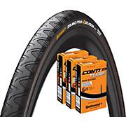 Continental Grand Prix 4 Season 23c Tyre & 3 Tubes