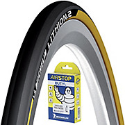 Michelin Lithion 2 Yellow 23c Tyre + Tube