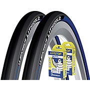 Michelin Lithion 2 Blue 23c Tyres + Tubes