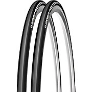 Michelin Pro 3 Race Tyres Black-Grey 23c - Pair