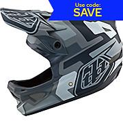 Troy Lee Designs D3 Fiberlite Helmet Speedcode