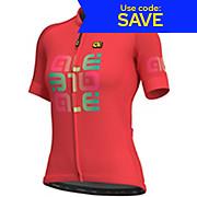 Alé Womens Solid MC Mirror Jersey SS19