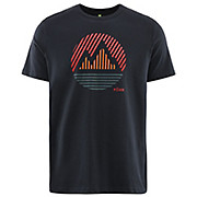 Föhn Stripe Mountain Tshirt