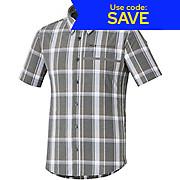 Shimano Transit Short Sleeve Check Button Shirt SS19