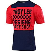 Troy Lee Designs Skyline Short Sleeve Jersey Checker 2019