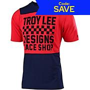 Troy Lee Designs Skyline Short Sleeve Jersey Checker 2019
