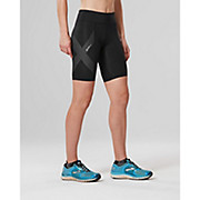 2XU Womens Mid-Rise Compression Short AW19