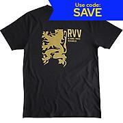 Velolove Rvv Gold Lion T-Shirt Black SS19