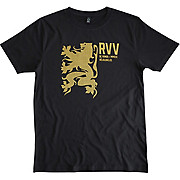 Velolove Rvv Gold Lion T-Shirt Black SS19
