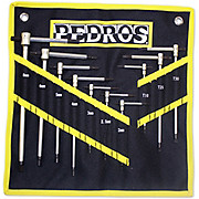 Pedros Master T-Handle Set With Pouch