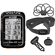 Bryton Rider 450 With Cadence+Speed+HRM Bundle 2019