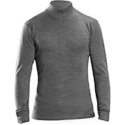GripGrab Merino Bamboo 1-2 Zip Base Layer AW19