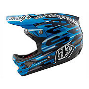 Troy Lee Designs D3 Carbon MIPS Helmet - Code Blue 2018