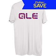 Alé Pink Swirl Logo T- Shirt SS19