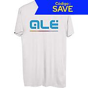 Alé Blue Classic Logo T- Shirt SS19