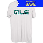 Alé Blue Swirl Logo T-Shirt SS19