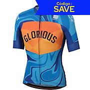 Sportful X Glorious Blue Glazed 2.0 Jersey SS19