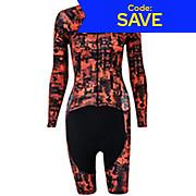 Morvelo Womens Fanzine Mono LS Speedsuit