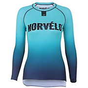 Morvelo Womens Aqua Long Sleeve Baselayer AW19