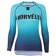 Morvelo Womens Aqua Long Sleeve Baselayer AW19