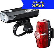 Cateye AMPP 500 & Rapid Mini Front & Rear Light