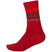 Endura BaaBaa Merino Stripe Sock II AW19