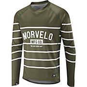 Morvelo Stripes Long Sleeve MTB Jersey AW17