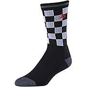 Troy Lee Designs Checker Crew Sock AW19