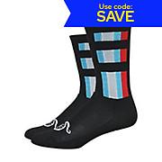 Defeet Aireator Handlebar Mustache Delux Socks AW19