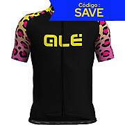 Alé Prime Hyper Leopard Short Sleeved Jersey AW19
