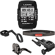Lezyne Macro Plus GPS Cycling Computer Bundle