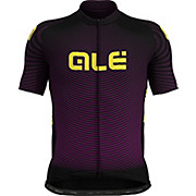 Alé Prime Short Sleeve Purple Wave Jersey AW19