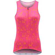 dhb Moda Womens Sleeveless Jersey - Hibiscus SS20