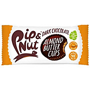 Pip & Nut Dark Choc Almond Butter Cups 15 x 34g