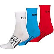 Endura COOLMAX® Race Socks 3-Pack