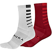 Endura COOLMAX® Stripe II Socks 2-Pack SS20